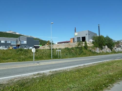 Administrasjonsbygg og forbrenningsanlegg. Senja Avfall, Botnhågen, Finnsnes