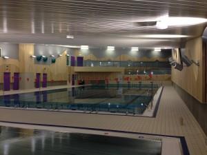 Finnsnes ungdomsskole. Svømmehallen